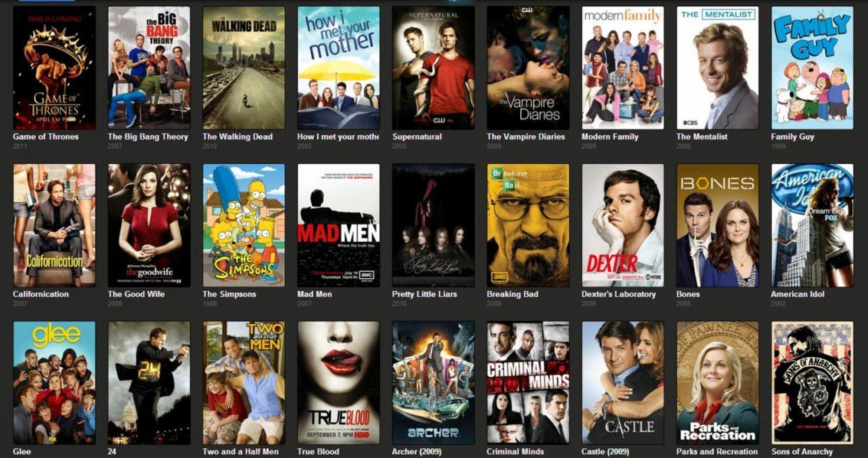 IMDB TOP 250 TV Shows